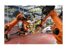 SafetyEYE safe camera system controlled the infeed area on a car door production line