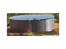Rain water tanks for humanitarian assistance