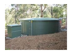 Rain water tanks for schools