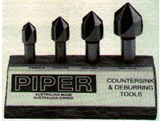 4  Flute Countersink Cutter Sets from Piper Tools