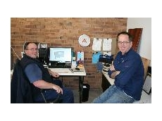 Zylem Production Manager Stewart Hudson (left) with Zylem Director and Proprietor Richard Hoskin (right)