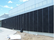 Plaspanel® industrial external cladding