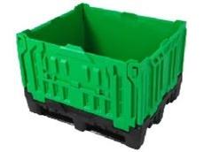 Plastic bulk containers are ideal for storing wine and food.