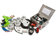 Custom control system assembly for water trucks