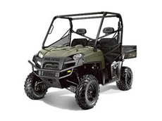 Choose from one of the Polaris ATV or side by side models as the basis for a custom built mining vehicle