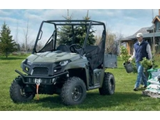 The midsize Ranger 500 EFI UTV from Polaris Industries