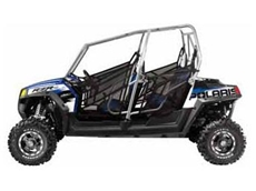 Ranger RZR 4 multi passenger sports side-by-side vehicle