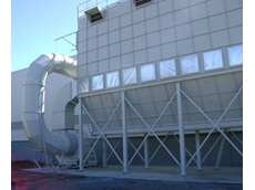 The dust extraction system at Visy Board in Yatala, Queensland