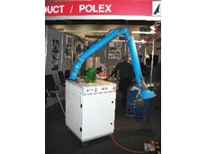 Polex e-Mission Control Mobile Dust and Fume Extraction Unit on display at National Manufacturing Week 2009.