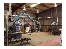 Polex installs a welding fume extraction system at John Holland Rail