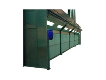 Wet Spray Booths and Dry Spray Booths