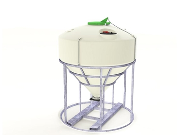 Durable, heavy duty constructed Hoppers from PolyMaster