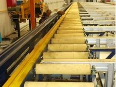 Aluminium extrusion roller covers manufactured from advanced engineering plastics