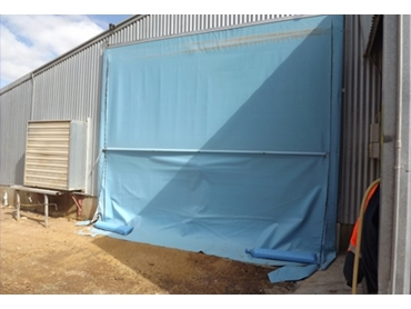 Industrial screens and covers for varied applications