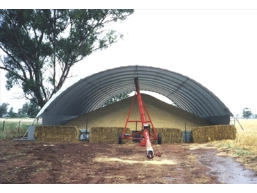 Polytex specialise in Hay Sheds, Machinery Sheds and Storage Sheds