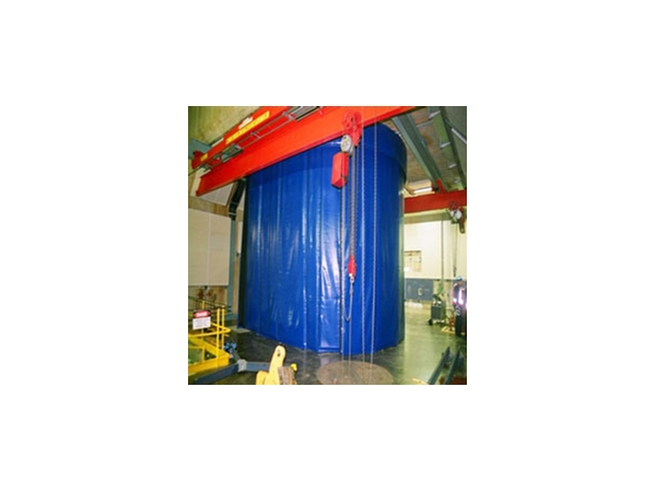 Construction Tarp Shelters : Construction application tarps by polytex