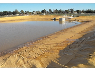 Polytex Dam Liners to ensure no overflow
