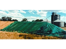 Grain storage covers by Polytex Tarps