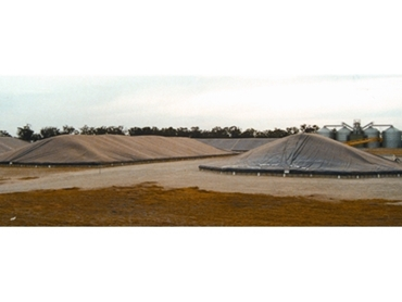 Grain Bunker Covers for Grain Storage and Grain Protection