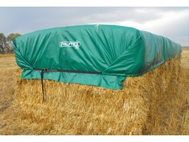 Durable Hay Stack Covers from Polytex