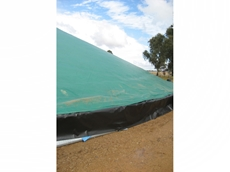 Polytex harvest covers for grain storage