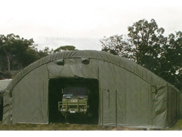 Shelters used by the Australian Defense Force