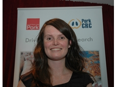 Megan Edwards has completed her pork research