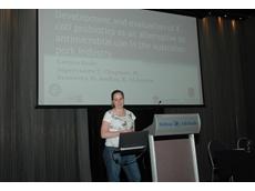 Larissa Beale, winner of the Pork CRC Best Presentation