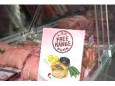 Free range pork