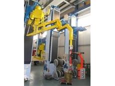 Dalmec MaxiPartner manipulator with hydraulic anti-jump device