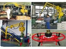 Industrial Strength Bag Handling Manipulators for Bag Lifting and Loading from Dalmec