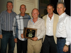 Presentation of the Topcon International Dealer of the Year Award to Position Partners