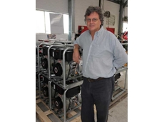 Pumps Australia MD John Warne with Yanmar L Series diesel engines