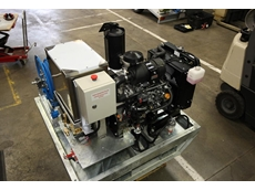 Power Equipment supplied the Yanmar diesel engine as a complete, assembled package