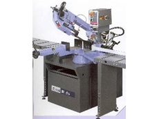 Band-sawing machine with 0°- 60° swivelling head from Power Machinery