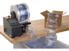 Fill-Air Cyclone inflatable packaging systems feature a compact footprint, and are ready to use straight from the carton