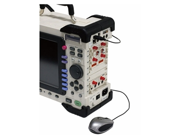 The Hioki MR8847 Memory HiCorder with USB and PC capabilities