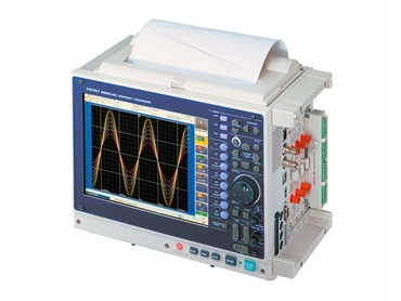 Hioki Memory HiCorder 8860-50 automatically saves during measurement