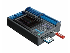 The Hioki Memory HiLogger LR8401 for the testing of electrical products