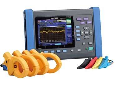 The Hioki PW3198 Power Quality Analyzer for a range of applications and industries
