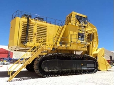 A Power Step access system for a mine vehicle