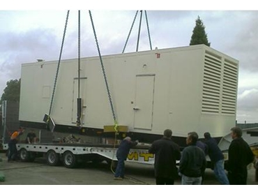 Industrial Gas and Diesel Generator Power Systems