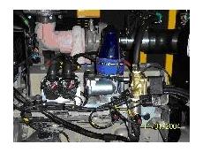 Gas converted generators