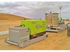 Bore pumps and diesel generators at the Iluka project