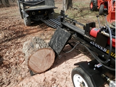 ​13HP Diesel Log Splitter 40T with hydraulic lift and electric key start