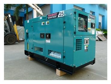 15KVA Kubota Silent Diesel Generator with Stamford Alternator 240V and Long Range Fuel Tank from Powercare