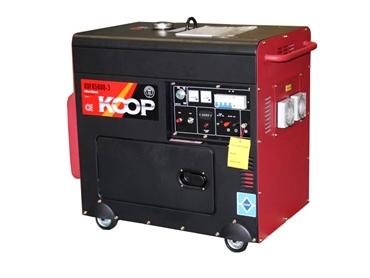 KOOP 3-Phase Diesel Generator KDF6500Q-3