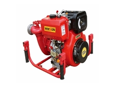 Diesel Fire Pump 13 HP with Electric Start by PowerCare