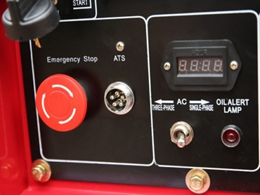 Emergency stop generator