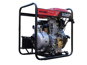 High pressure diesel water pump